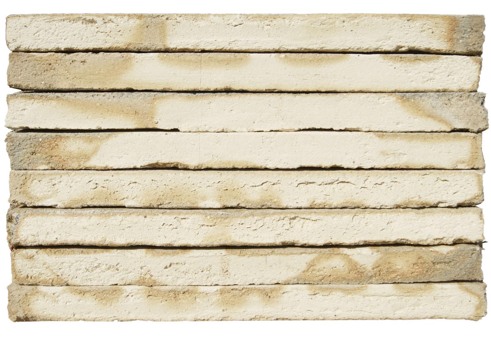 Ladrillos Superlargo Manual Blanco Marfil Destonado